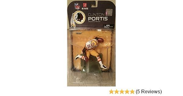 Clinton Portis Washington Redskins Mcfarlane Football Figure NFL Wave 3