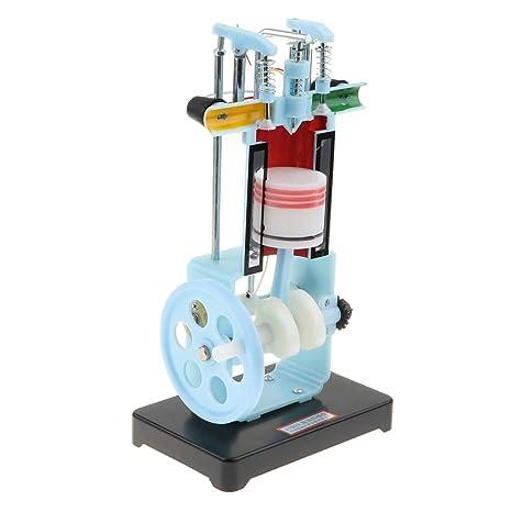 Amazoncom B Blesiya 4 Stroke Single Cylinder Diesel Engine