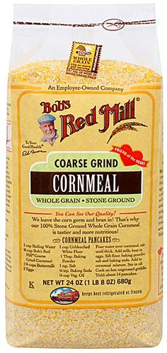 Bob's Red Mill Cornmeal Coarse Grind, 24-ounces (Pack of4) ( Value Bulk Multi-pack) by Bobs Red Mill