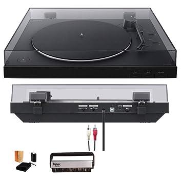 Amazon.com: Sony PS-LX310BT Wireless Turntable Bundles: Home ...