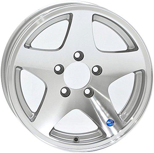 (12 x 4 Star Aluminum Trailer Wheel 5 on 4.50 Lug, 1,520 lb Load Capacity)