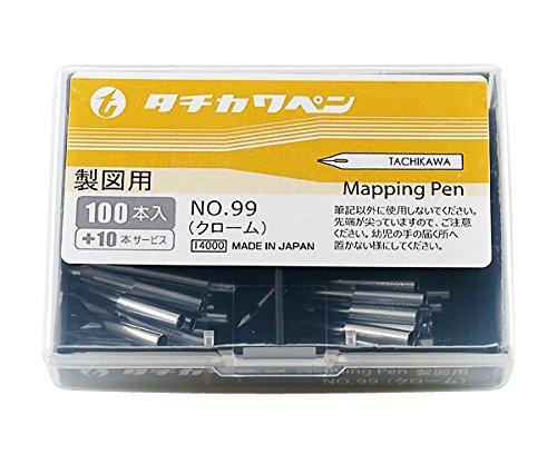 タチカワ ペン先 99丸ペン 100本入り(10本サービス) T99-100   B015QNM2X8