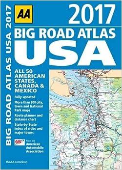AA Big Road Atlas USA 2017 (Aa Road Atlas)