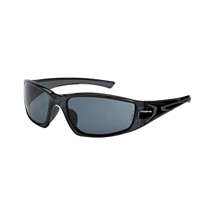 381028b294 Crossfire Eyewear 23421 RPG Safety Glasses with Black Frame and Smoke Lens  - - Amazon.com