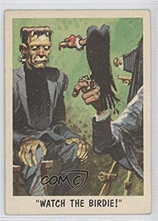 """Watch The Birdie!"""""""" (Trading Card) 1959 Topps Bubbles You'll Die Laughing - [Base] #35"""