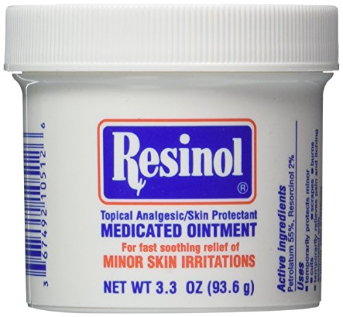 RESINOL OINTMENT JAR Size: 3.3 OZ (Pack of 2)