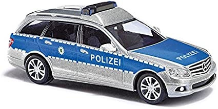 1//87 Busch MB C-Klasse Polizei Baden-Württemberg 43665
