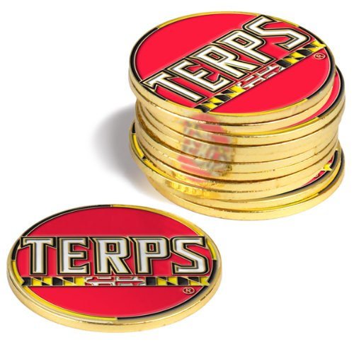 Maryland Terrapins Golf Ball Markers (4 ()