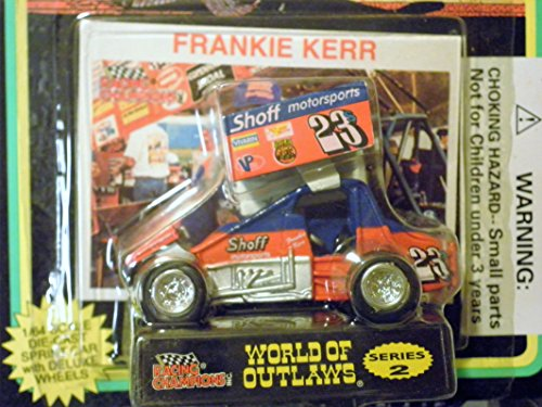 Sprint Car Bobby Frankie Kerr (red#23) World of Outlaws Series 2 1:64 scale die-cast Racer by Racing - Diecast Sprint Car
