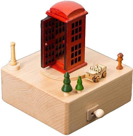 Cajas Musicales Lindo Paisaje en Miniatura con Caja Musical de ...