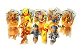 [RusToyShop] 6psc random Disney Winnie the Pooh Toys From Kinder Surprise Eggs in Shells Capsules Party FavorToy Filled Easter Eggs -  konfitreid