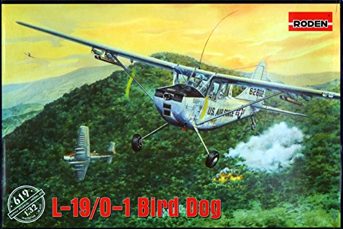 L19 Bird Dog - ROD619 1:32 Roden L-19 / O-1 Bird Dog [MODEL BUILDING KIT]