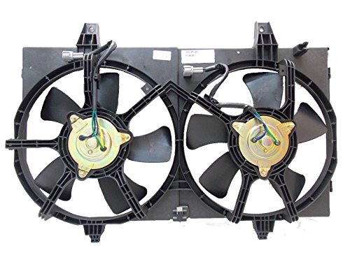 Automotive Cooling Brand Radiator And Condenser Fan For Nissan Maxima Infiniti I35 NI3115122 100% Tested ()