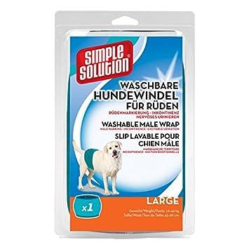 Simple Solution Solución simple perro 012 desechables Pañales