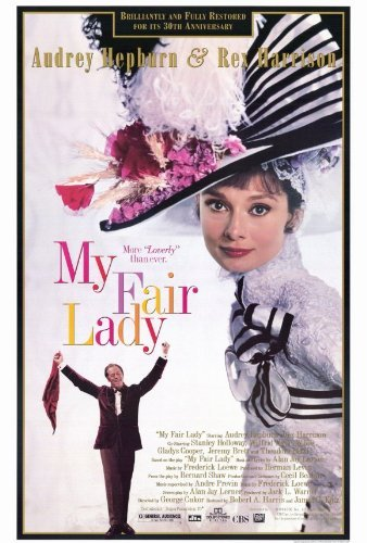 My Fair Lady Movie Poster   Style B -
