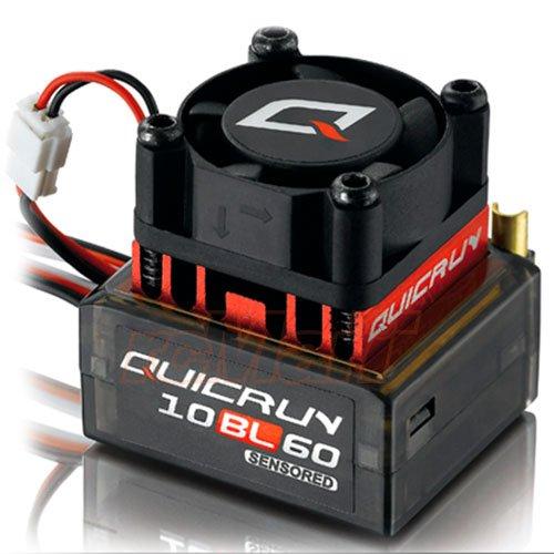 HobbyWing QuicRun 1/10 Brushless Sensored 60A ESC 10BL60