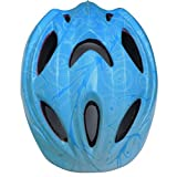 Child Multi-Sport Helmet, BSGSH 10 Vent Kids Sports Mountain Road Bicycle Bike Safety Helmet with Wind Duct Design for Cycling, Skating, Skateboarding, Longboard, Scooter - Adjustable Strap (Blue)