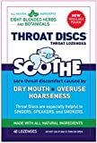 Throat Discs Throat Lozenges Original Formula 1.5 OZ - Buy Packs and SAVE (Pack of 2)