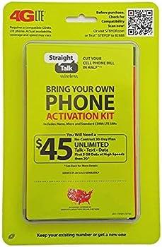 Straight Talk Bring CDMA Activation Kit (4G LTE)