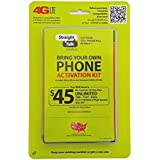 Straight Talk Verizon 4G LTE 3G CDMA Bring Your Own Phone Activation Kit