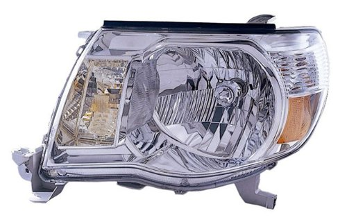 Toyota Tacoma Driver Side Replacement Headlight