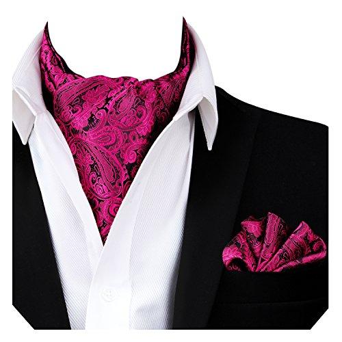 y Multicolor Pink Hot Pañuelo Alizeal para Paisley Corbata Hombre w4qRv7x