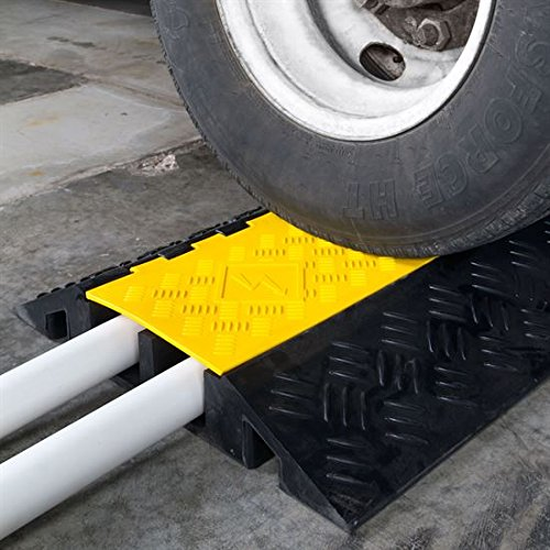 Amazon Hose And Rubber >> 2-Pack Bundle of 2-Channel Heavy Duty Modular Cable Protector Ramps - Buy Online in UAE ...
