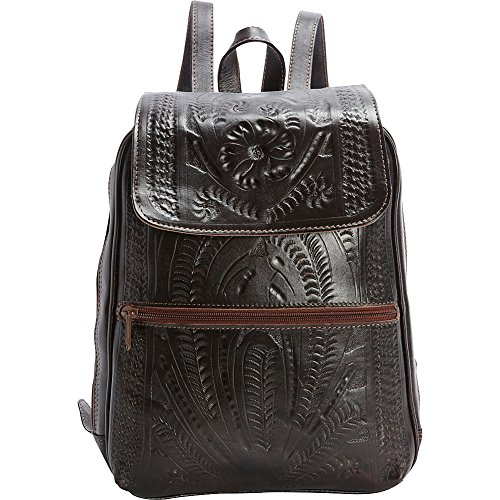 Ropin West Backpack Purse (Brown) by Ropin West