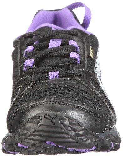 Puma Pumafox GTX® WN's, Women's Running Schwarz/Black-gray Violet-fluo Purple