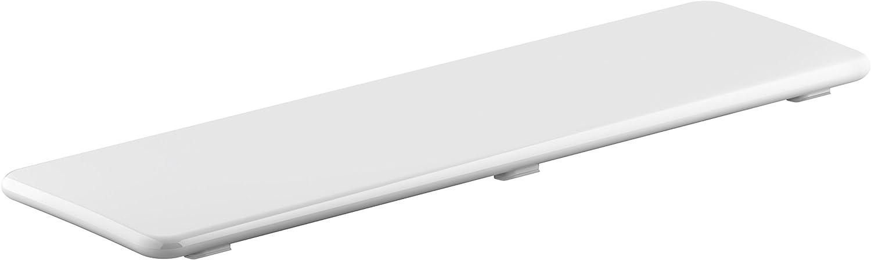 White KOHLER K-9157-0 Bellwether Plastic Drain Cover for 60-Inch x 34-Inch Shower Base