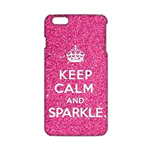 diy zhengCool-benz Pink simple motto calm down 3D Phone Case for iphone 5c