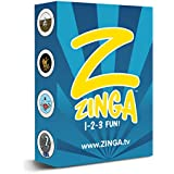 Zinga Cards | Card Game For Kids ages 3 and up | Great Birthday Gift, Goody Bags, Travel Game for Kids | Family Fun