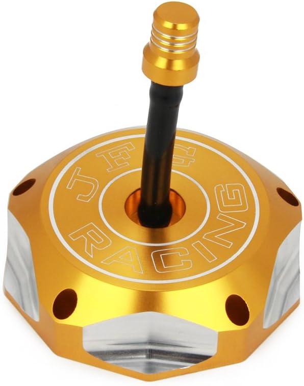Oro DR-Z50 DRZ70 RMZ250 DRZ 125 DRZ 400 DRZ 400E LT-R450 LT-Z400//Z LT-Z250 WR125 TC250 TE250 SM250R Coperchio del tappo del serbatoio del carburante per gasolio