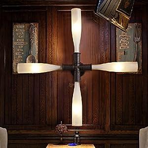 American Retro Schlafzimmerlampe Industrielampe Gang Wandleuchte Tischlampe...