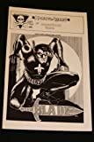 img - for Blade #1, Vol. 1 Dec. 1989 1st Sensational Issue book / textbook / text book