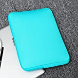 "RAINYEAR 14 Inch Laptop Sleeve Case Protective Soft Padded Zipper Cover Carrying Computer Bag Compatible with 14"" Notebook Chromebook Tablet Ultrabook"