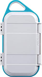 product image for Pelican Go G40 Case - Waterproof Case (White/Aqua)