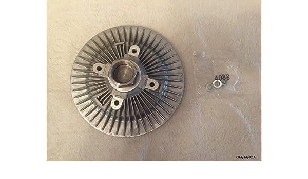 HAYDEN Ventilador Viscoso embrague Nitro 2.8 CRD 2007 – 2011/Cherokee (libertad) KK 2.8 CRD 2007 – 2011: Amazon.es: Coche y moto