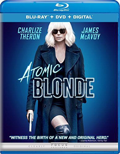 Blu-ray : Atomic Blonde (With DVD, Ultraviolet Digital Copy, Digitally Mastered in HD, 2 Pack, Digital Copy)