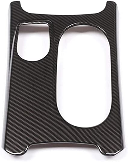 Für Mercedes Benz A Gla Cla Klasse W176 X156 C117 Auto Abs Chrom Kohlefaser Textur Mittelkonsole Wasserbecherhalter Abdeckung Sport Freizeit