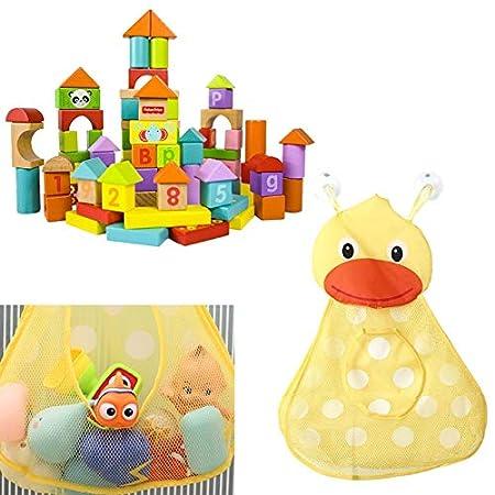 JAGENIE Baby Bad Tier Spielzeug Mesh Net Aufbewahrungstasche Organizer Halter F/ür Home Bad 1