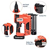 Orion Motor Tech Electric Cordless Brad Nail and
