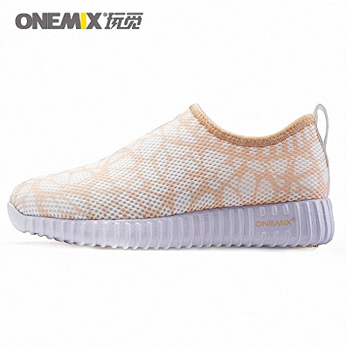 Wheat Gold Mesh Running Walking Run Shoes Sneaker Brethable Roshe Sport Women's Outdoor Free Lightweight Onemix 6UOq1xOw