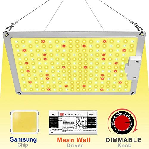 Uoiuxc 1000 watt Led Grow Light with Samsung Chip Mean Well Driver, Grow Lights for Indoor Plants Full Spectrum 110W Sunlike for Veg Flower Indoor Plants