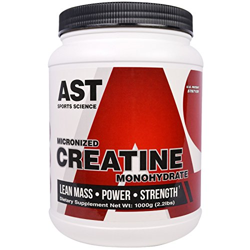 AST Sports Science, Micronized Creatine Monohydrate, 2.2 lbs (1000 g) - 2PC by AST