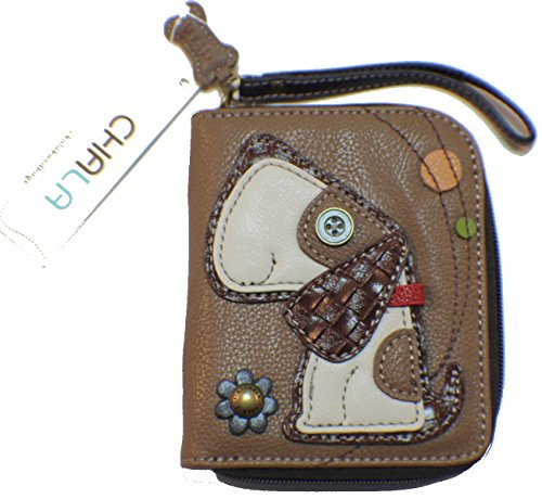 Price comparison product image Chala Zip Around Wallet - Dog Brown