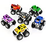 Small Toys Monster Pullback Trucks (Pack of 12) (Discontinued by manufacturer)