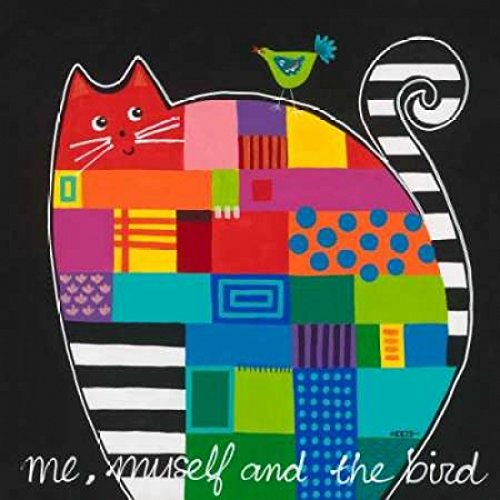 Posterazzi Me myself and the bird Poster Print by Yvonne Hope (24 x 24)