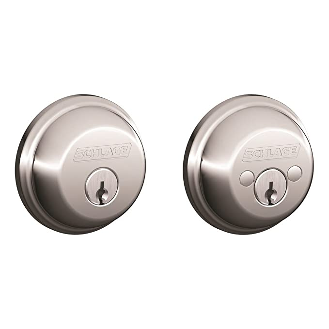 Amazon.com: Schlage. Cerradura con llave de ambos lados ...