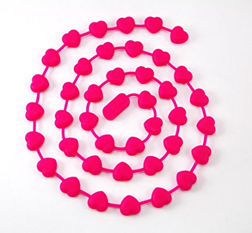 ZEAL Fuss Free Silicone Pie Weights - Chain - For Baking Pie Crusts - Heat Resistant to 482°F (Pink)